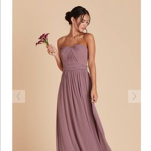 Birdy grey grace convertible dress - dark mauve